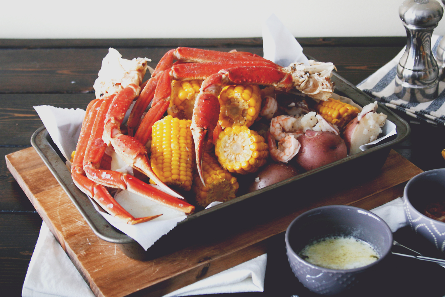 Snow Crab Boil with Corn and Potatoes - Daily Ciabatta